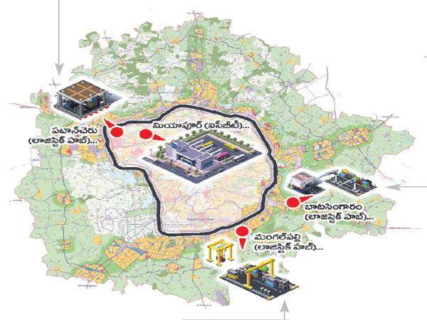 HMDA Special focus in ICBT construction in Miyapur - Sakshi