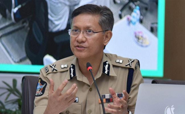 DGP Gautam Sawang Responding To Drone Controversy - Sakshi