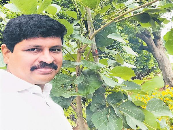 MP Santhosh Green Challenge for four others - Sakshi