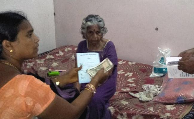 Gvmc Preparation Pensions Distribution In Visakhapatnam - Sakshi