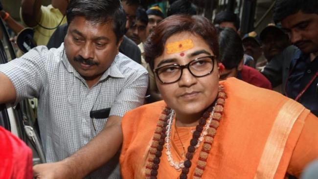 Sadhvi Pragya Says Those Who Support PM Modi And Amit Shah Were Patriots - Sakshi