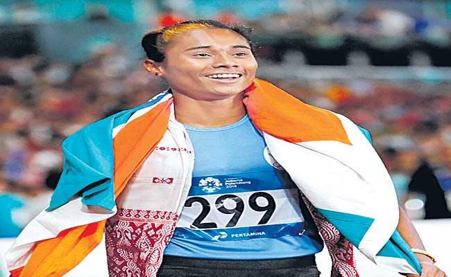 athlete Hima Das Won Gold In Czech Republic - Sakshi