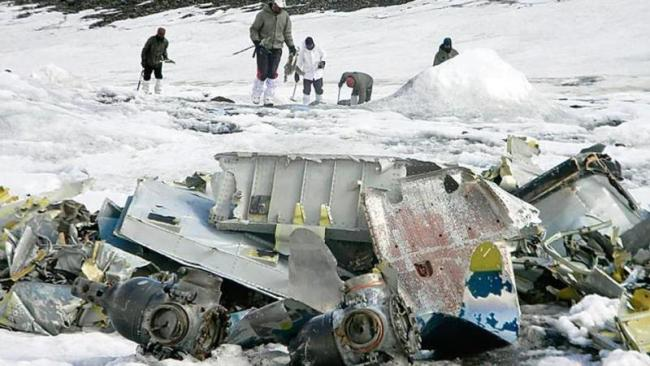 Wreckage of IAF Aircraft Found After 51 Years on Lahaul Spiti Glacier - Sakshi