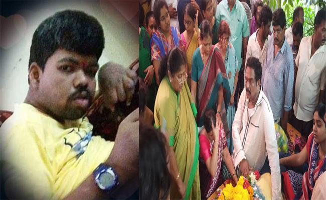 Kothapalli Subbarayudu Son Died In Narasapuram West Godavari - Sakshi