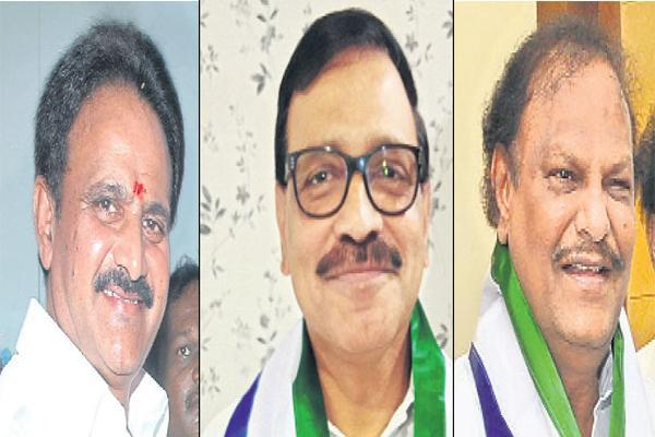 Three YSRCP Candidates Unanimously Elected As MLCs - Sakshi