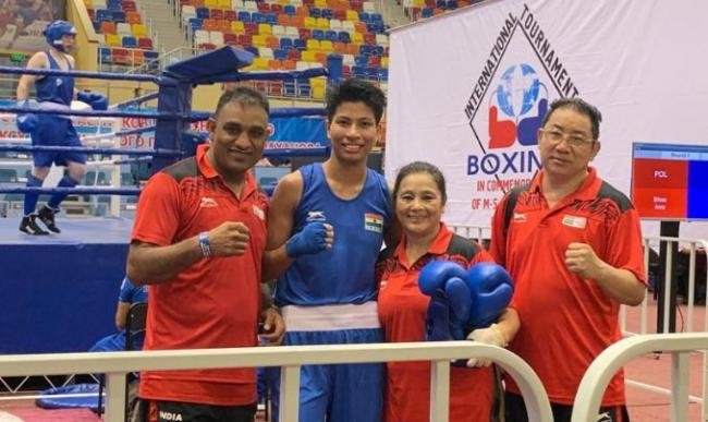 Four Indian Women Reach Semis at Boxing Tournament in Russia - Sakshi