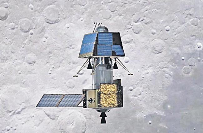 ISRO to inject Chandrayaan 2 into lunar orbit Tuesday - Sakshi
