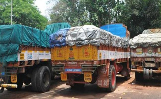 Illeagal Granite Transportation In Prakasam - Sakshi