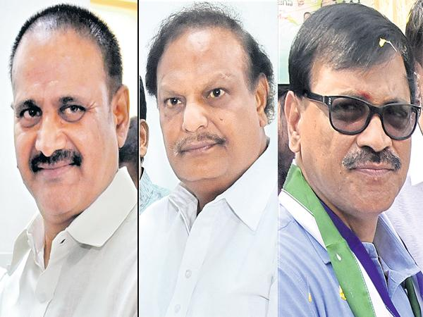 Three leaders of the YSRCP were elected unanimously as MLCs - Sakshi