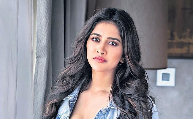 Nabha Natesh to romance sai dharam tej - Sakshi