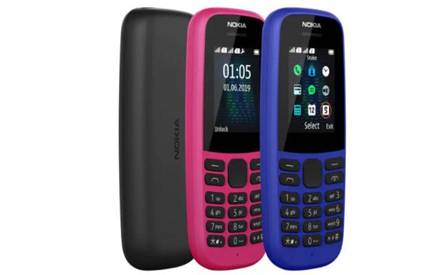 Nokia 105 (2019) Feature Phone With Up to 25 Days Standby Time  - Sakshi