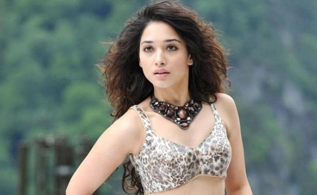 Tamannaah Bhatia to Make Her Malayalam Debut - Sakshi