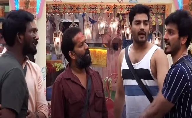 Mahesh Fires On Ali Reza In Bigg Boss 3 Telugu - Sakshi