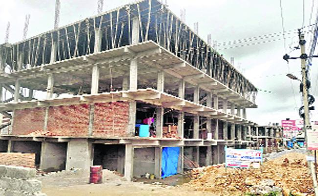 Illegally Constructed Buildings In Sangareddy - Sakshi