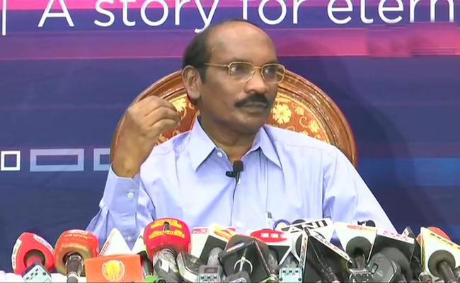 ISRO Chairman K Sivan Says Moon Mission Had Crossed A Major Milestone - Sakshi