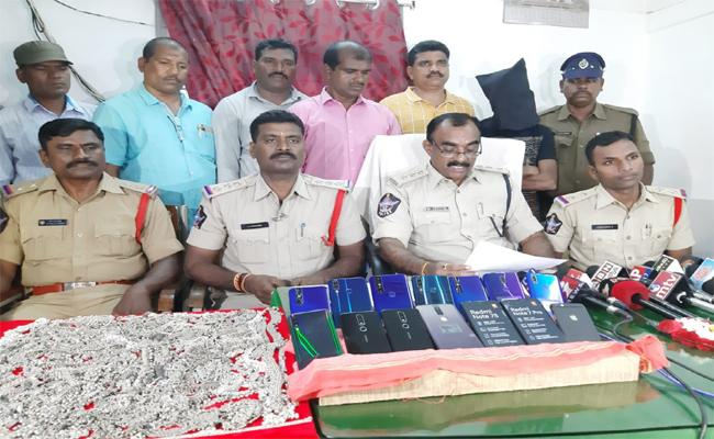 Robber Arrested By Police In Nellore - Sakshi