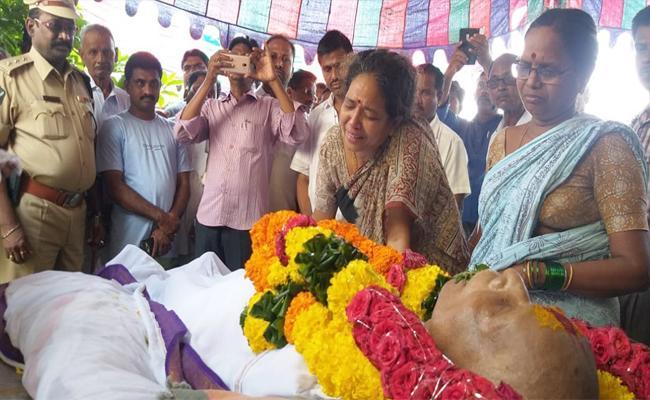 Palakonda MLA Kalavathi Father Death - Sakshi