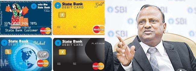 SBI aims to eliminate debit cards - Sakshi