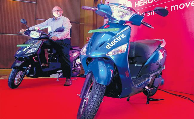 Hero Electric High Speed Scooty Launch - Sakshi