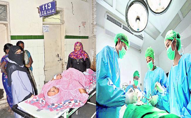 Staff Shortage in Hyderabad Government Hospitals - Sakshi