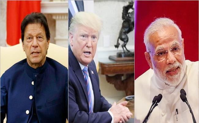 Donald Trump Tweets Tough Situation Good Conversation After Talk With Modi And Imran Khan - Sakshi
