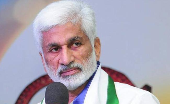 YSRCP Leader Vijaya Sai Reddy Critics Chandrababu Over Krishna Floods - Sakshi