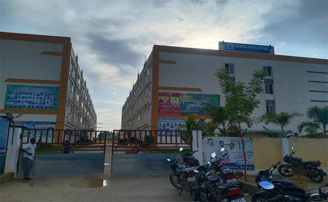 Student Suicide Attempt In Narayana College Chittoor - Sakshi