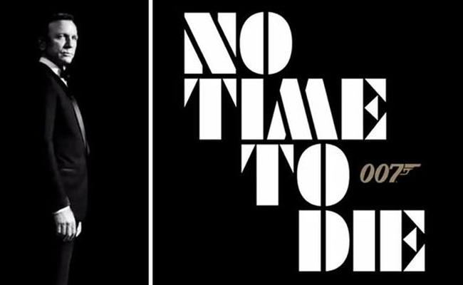 James Bond 25 is Officially Titled No Time to Die - Sakshi