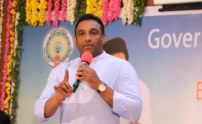 Mekapati Goutham Reddy Participate Ease of Doing Business Conference - Sakshi