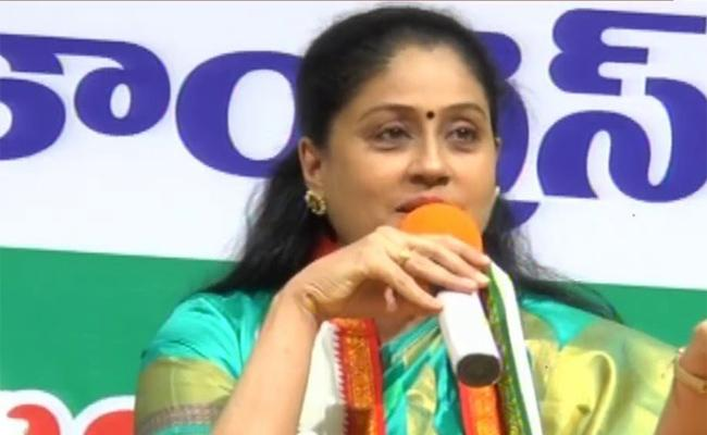 Vijayashanthi Fires On CM KCR, KTR About Telangana Inter Results Row - Sakshi