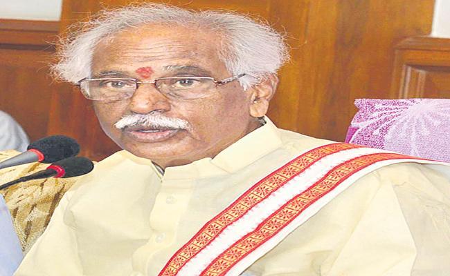 BJP Leader Bandaru Dattatreya Counter On KTR - Sakshi