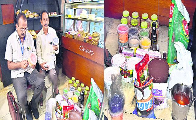 Corporation Authorities Seized Sweet Shop In East godavari - Sakshi