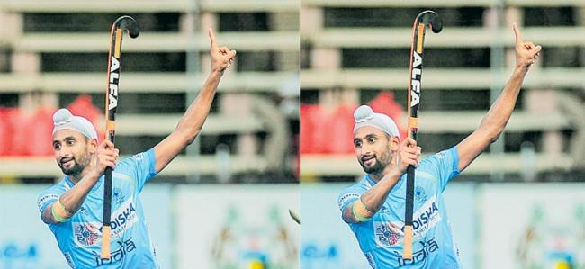 India beat Japan 6-3 to clinch final berth in Olympic Test Event - Sakshi