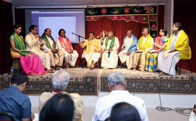 Astavadhana Programme Conducted By TANA And TANTEX In Dallas - Sakshi