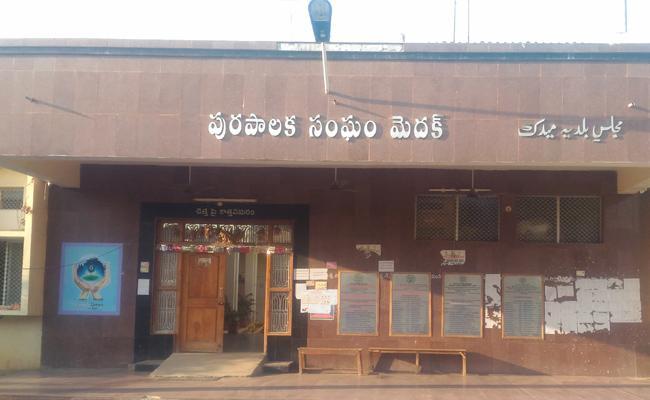 Medak Municipality Is Corrupted In Medak District - Sakshi