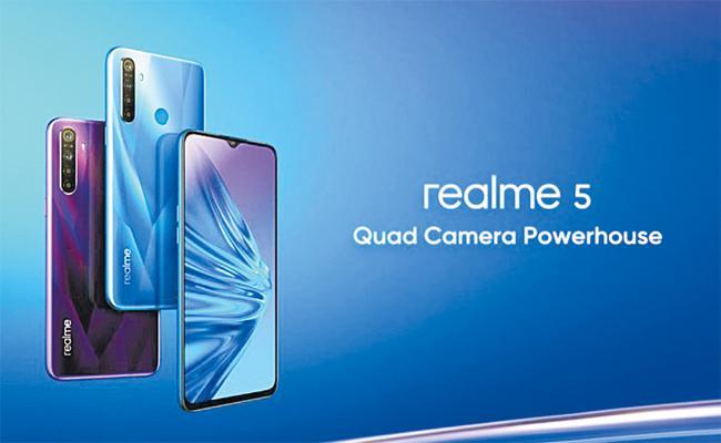 Realme Launch 5 pro Smartphone - Sakshi