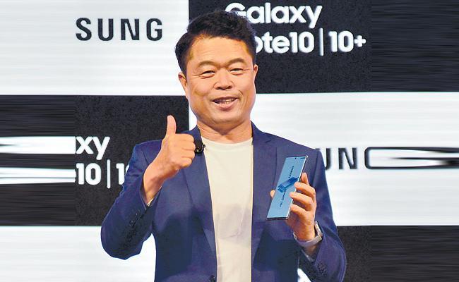 Samsung Launch Galaxy Note10 - Sakshi