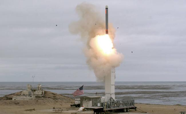 US Conducts First Cruise Missile Test - Sakshi