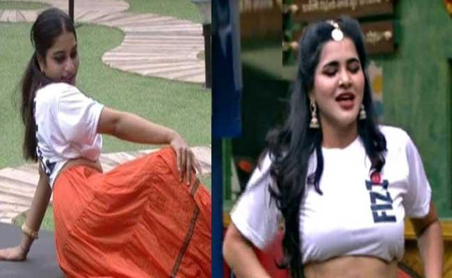 Bigg Boss 3 Telugu Punarnavi And Ashu Dance Performance Goes Viral - Sakshi