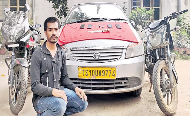 Snatcher Fazer Arrested in Hyderabad - Sakshi