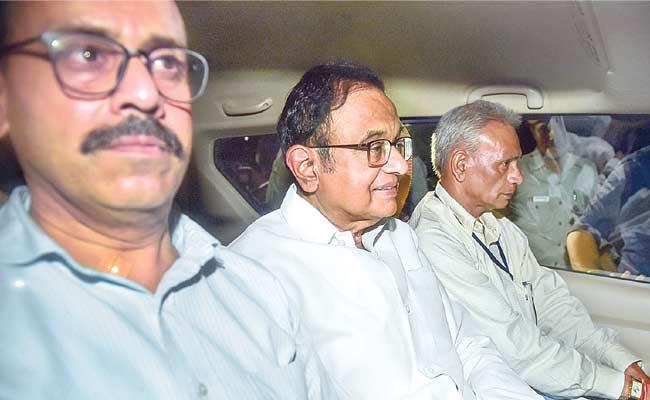 P Chidambaram Arrested By CBI In INX Media Case - Sakshi