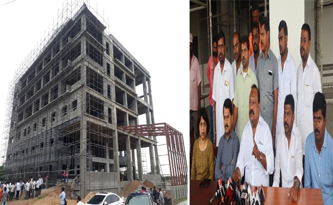 Karimnagar IT Tower Construction Completed - Sakshi