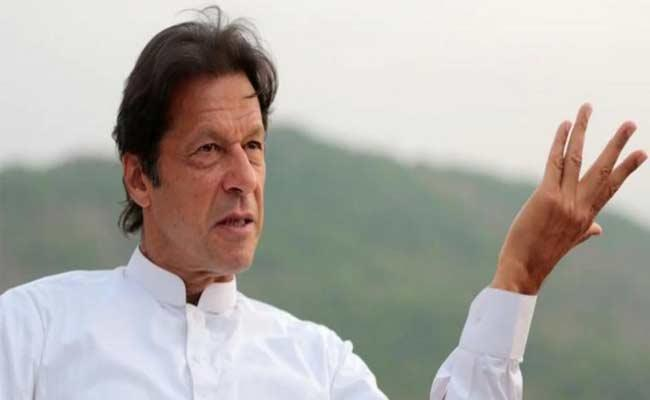 Imran Khan Says Not Interested In Dialogue With India - Sakshi