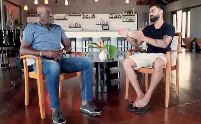Team India Run Machine Virat Kohli Interview Vivian Richards - Sakshi
