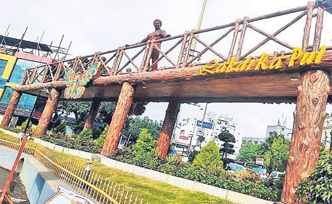 lakdikapool bridge starts today - Sakshi