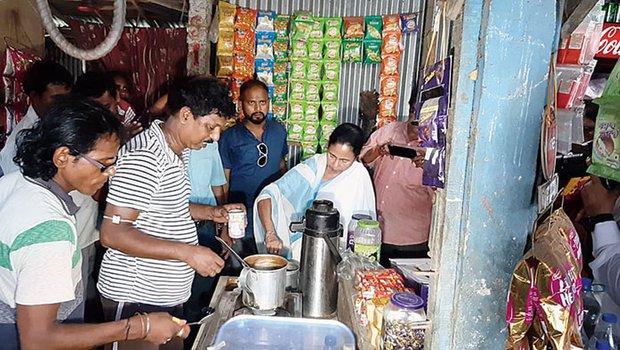 Mamata Banerjee Tea Making at Digha Video Viral - Sakshi