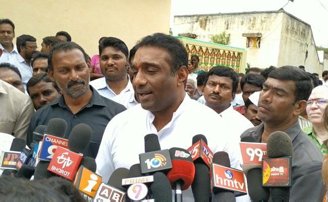 Amaravati Continues To Be AP Capital Says Mekapati Goutham Reddy  - Sakshi
