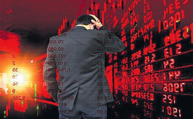 Sensex Drops Over 450 Points, Nifty Sinks Below 10,800  - Sakshi