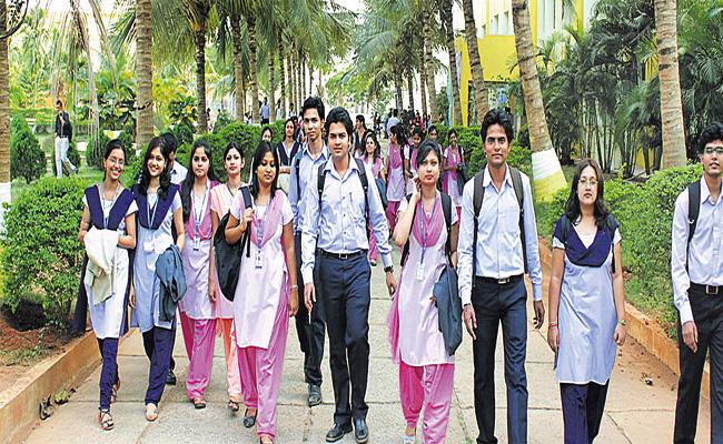 Engineering Colleges Collecting Extra Fee For Attendance - Sakshi
