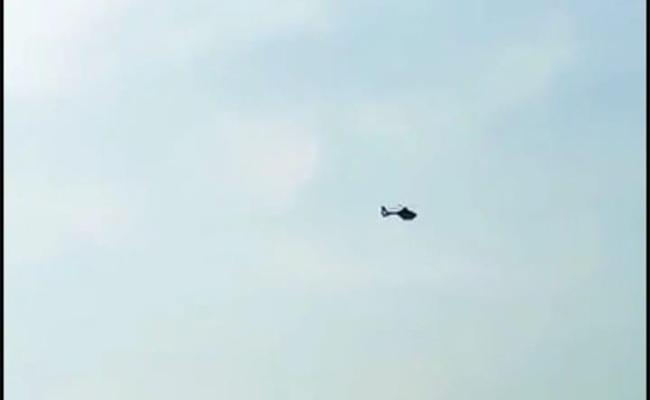 Helicopter Aerial Survey For Uranium Search Nalgonda - Sakshi